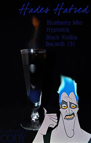 Cocktail Disney Hades by Cody