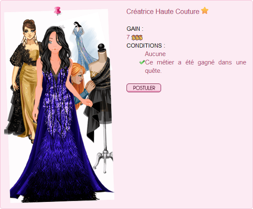 Créatrice Haute Couture