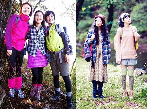 Yama girl style