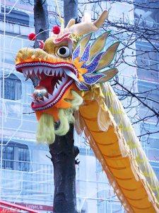 Nouvel An chinois 2016 dragon