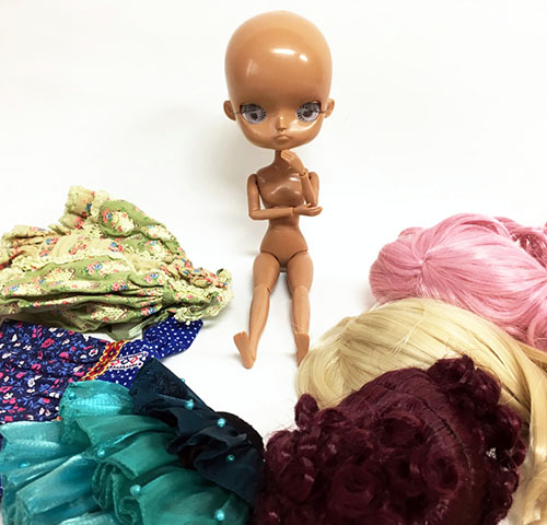 Doll Dal MIO Mocha skin custom