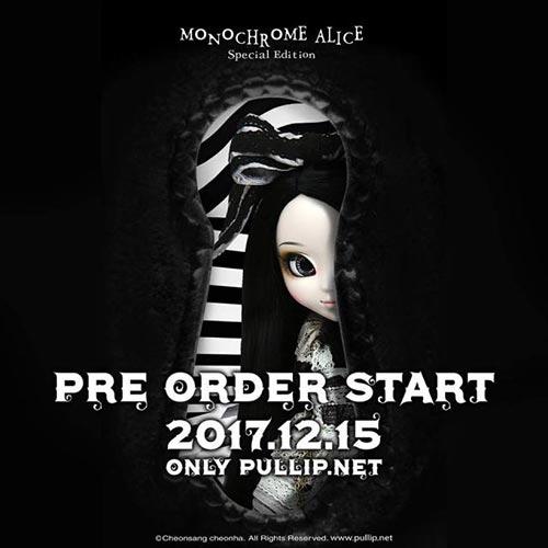 Pullip Monochrome Alice Limited Edition preorder
