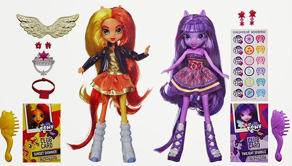 Equestria Girls Twilight Sparkle Sunset Shimmer
