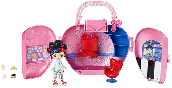 Kuukuu Harajuku Little purse playset Love