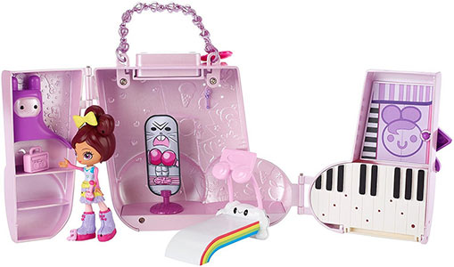 Kuukuu Harajuku Little purse playset Music