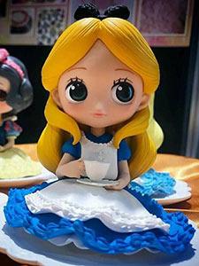 Qposket Disney Alice tea Party