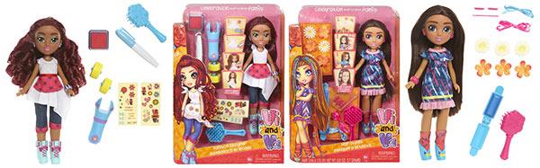 Vi and Va doll and activity