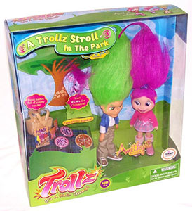 A Trollz stroll in the park