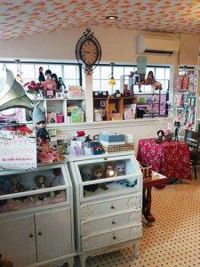 NS doll cafe shop interieur