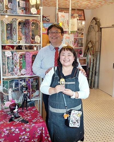 Owner NS doll cafe shop