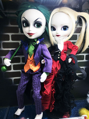Taeyang The Joker Pullip Harley Quinn Dress version 2018 Kiddyland shop