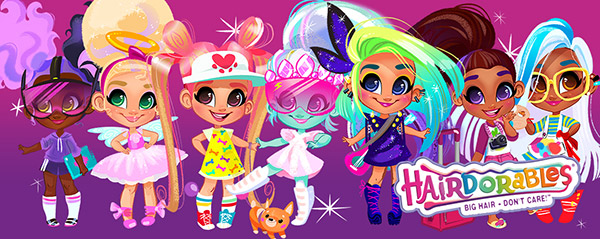 Hairdorables dolls list banner