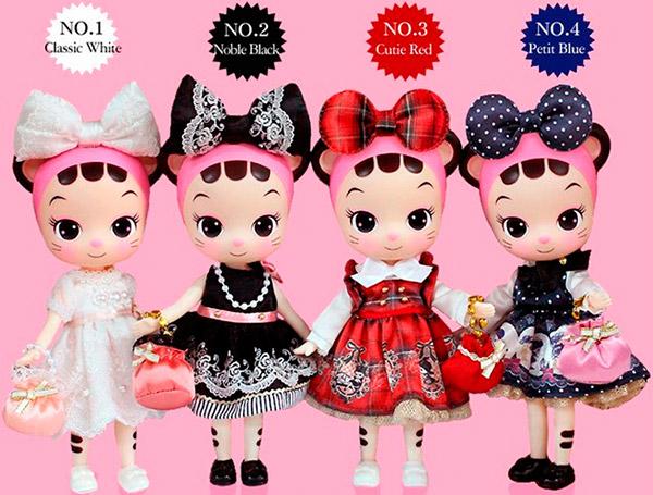 Cellicat Korean dolls