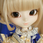Pullip La RobeVert Bleu Royal mini