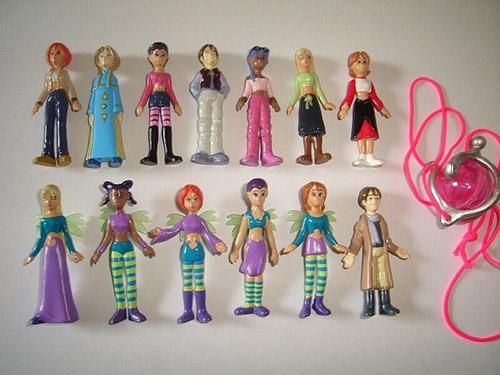 Figurines witch Disney