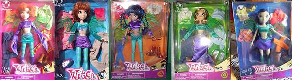 Disney doll witch serie