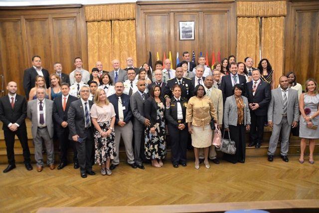 """Presentación en Europa de la Institución """"ALIANZA INTERNACIONAL DE CAPELLANES VOLUNTARIOS DE SEGURIDAD NACIONAL"""""""