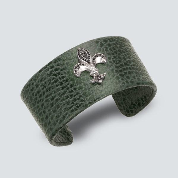 Fleur de Lys Wrist Band