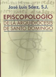 Portada Libro Episcopologio por el P. Jose Luis Saez