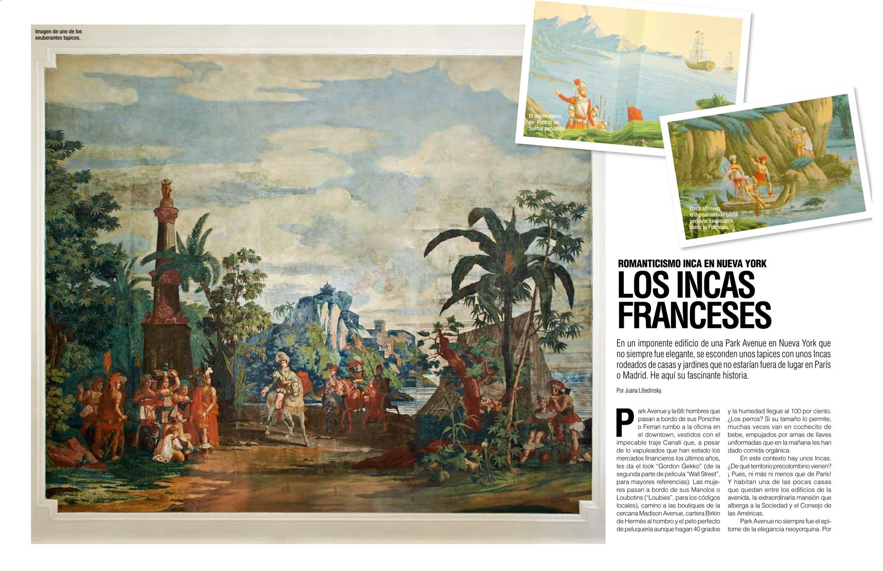 Romanticismo Inca en Nueva York Los Incas Franceses  ASCOA