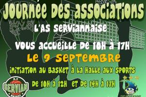 Journée des associations le dimanche 9 septembre