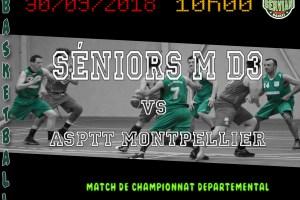 Seniors M D3 le 30/09/2018