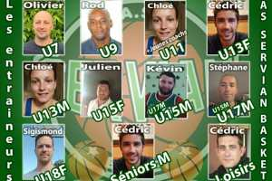 Les entraîneurs pour la saison 2020 / 2021