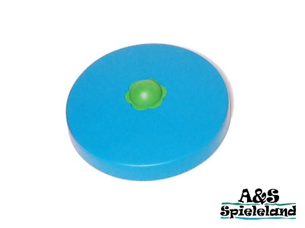 Abdeckkappe / Pfostenkappe Rundholz blau