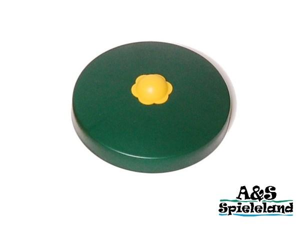 Abdeckkappe / Pfostenkappe Rundholz grün