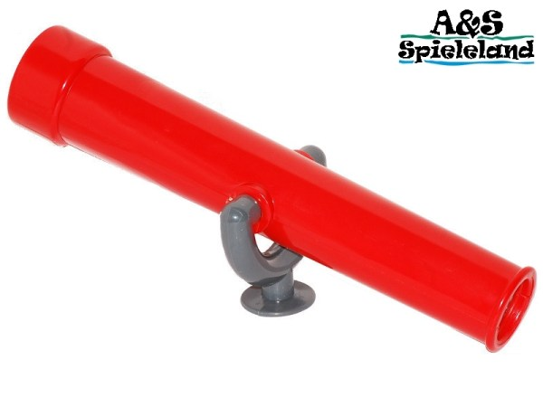 Fernrohr / Teleskop Rot