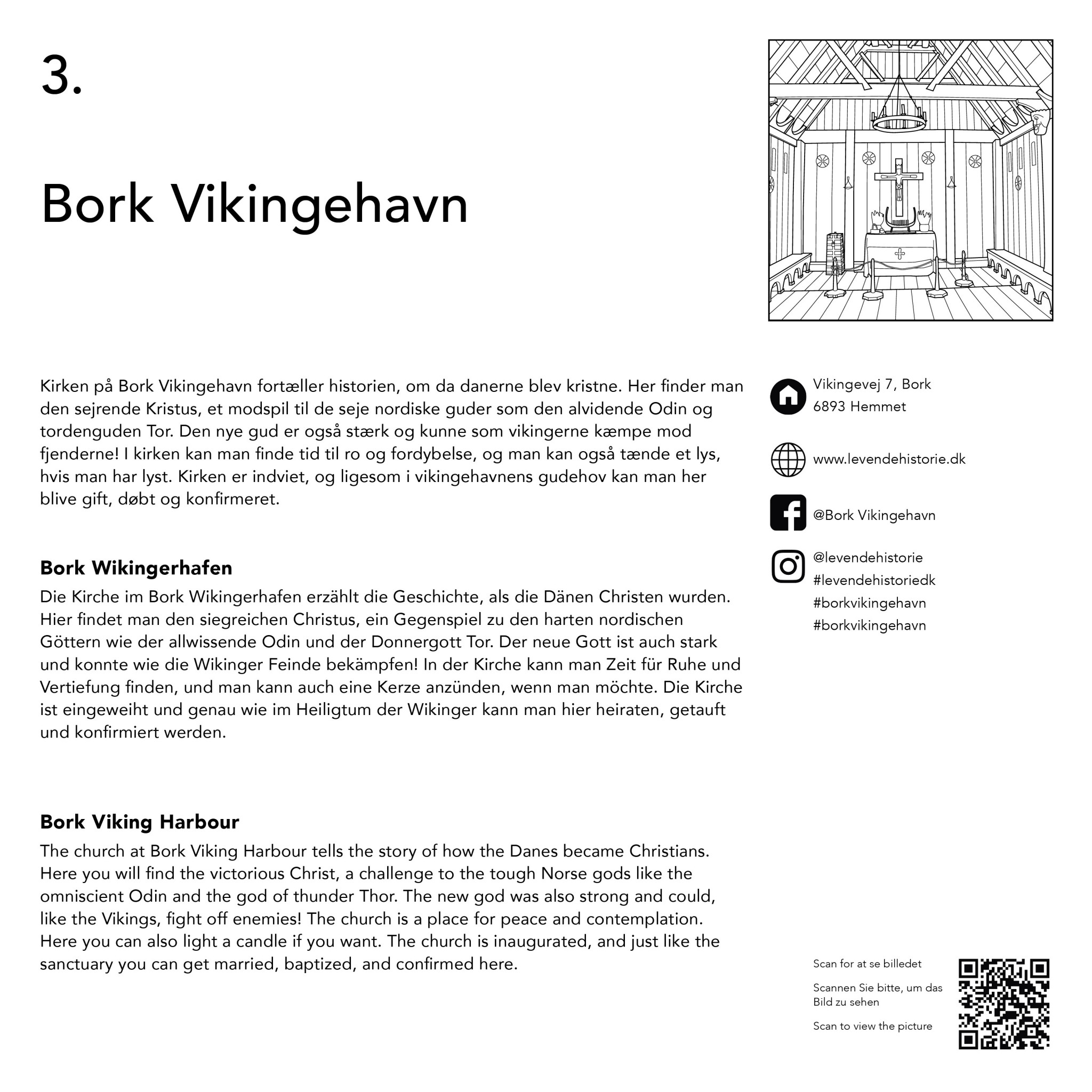 Colour Your Holiday - Sightseeing in Ringkøbing-Skjern -VB- Bork Vikingehavn historie