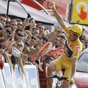 Valverde se aseguró ayer su primera grande