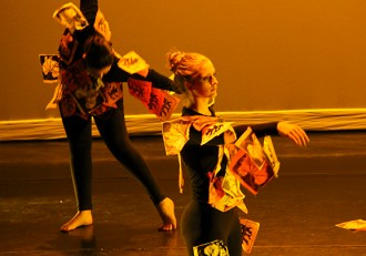 """""""Winter Wandering"""" performed at Collaborama"""