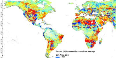 Dr. Sagy Cohen predicts drought using hydrology map