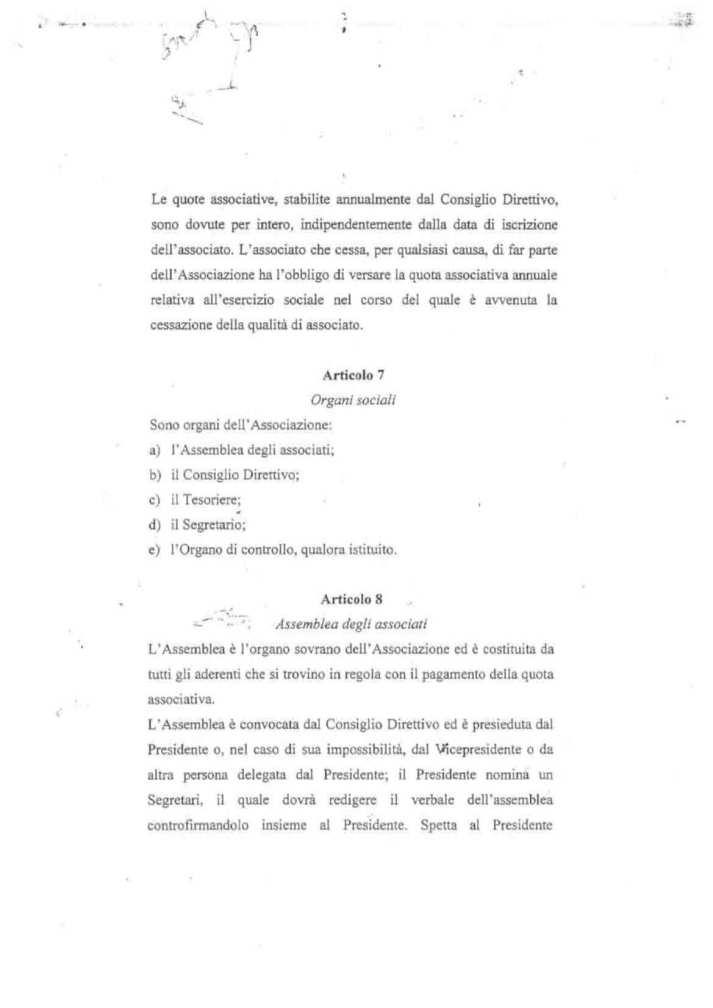 ASD 5 PARI STATUTO 10 - STATUTO