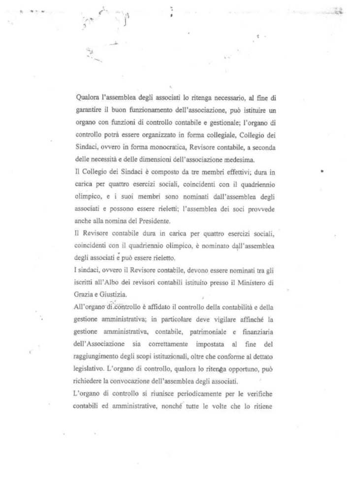 ASD 5 PARI STATUTO 17 - STATUTO