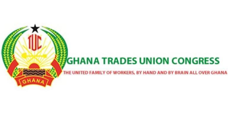 Ghana TUC emblem