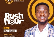 "Photo of Elvis Crystal takes up Asaase Radio 99.5's drive-time show, ""Rush Hour"""
