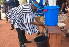 Photo of Bawumia registers for new voter's card