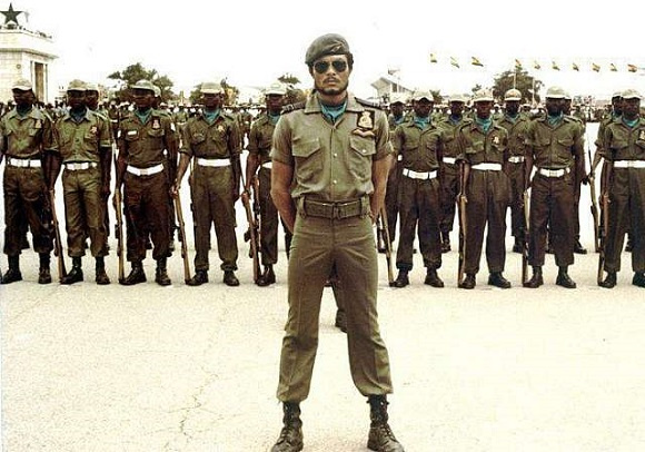 Jerry Rawlings in the revolutionary years