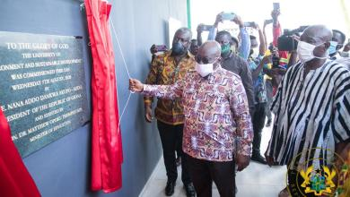 Photo of President Akufo-Addo commissions university of environmental studies