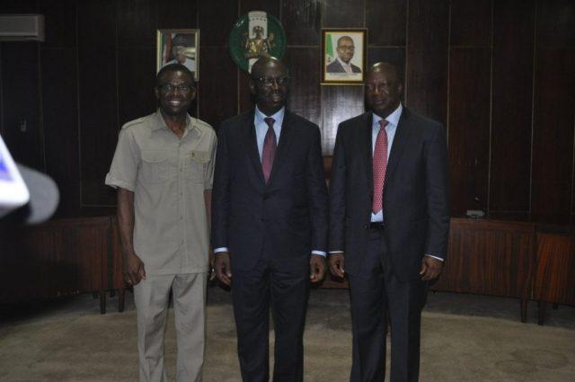Comrade Philip Shaibu andGovernor Godwin Obaseki