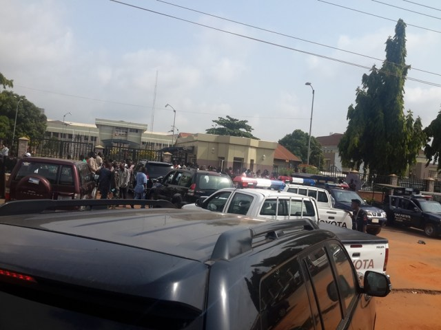 Delta State House Of Assembly Workers Protest