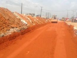 Road Repair in Abraka