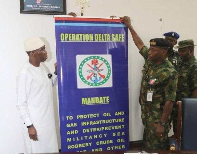 Operation Delta Safe Commander Rear Admiral Opoche Suleiman