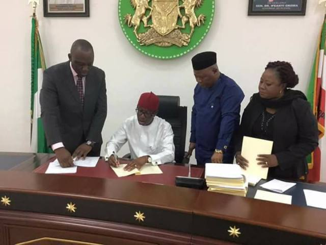 See the Six Bills Approved By Governor Okowa