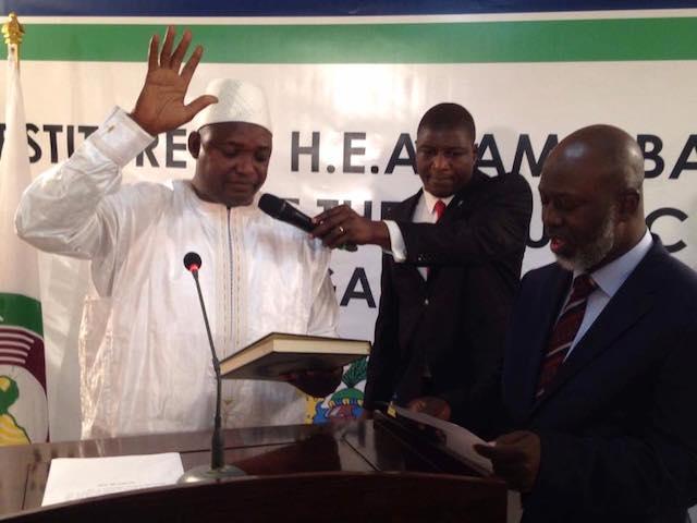 Gambia President, Adama Barrow