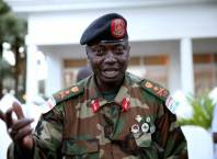 Gambia's Army Chief, Ousman Badjie