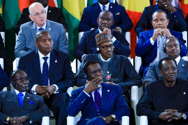 President Buhari Attends 27th Africa-France Summit in Mali