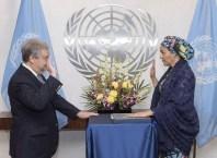 Amina Mohammed at United Nations